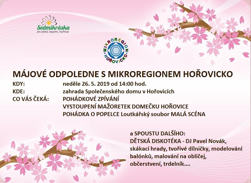 Pozvánka Mikroregionu Hořovicka